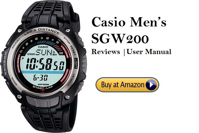 Casio Men's SGW200 – Reviews 2019, User Manual