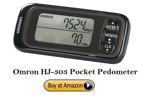 Omron HJ-303 Pocket Pedometer | Reviews 2019