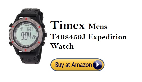 Timex Mens T498459J Expedition Watch